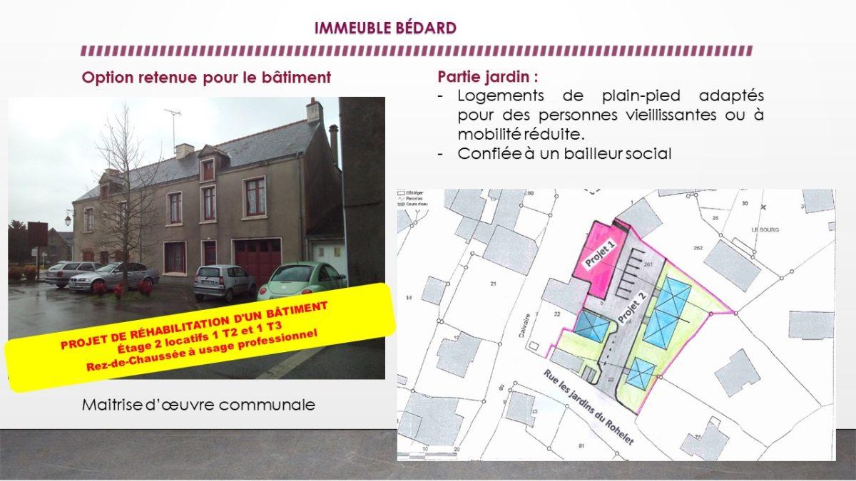 Immeuble Bédard + Jardin