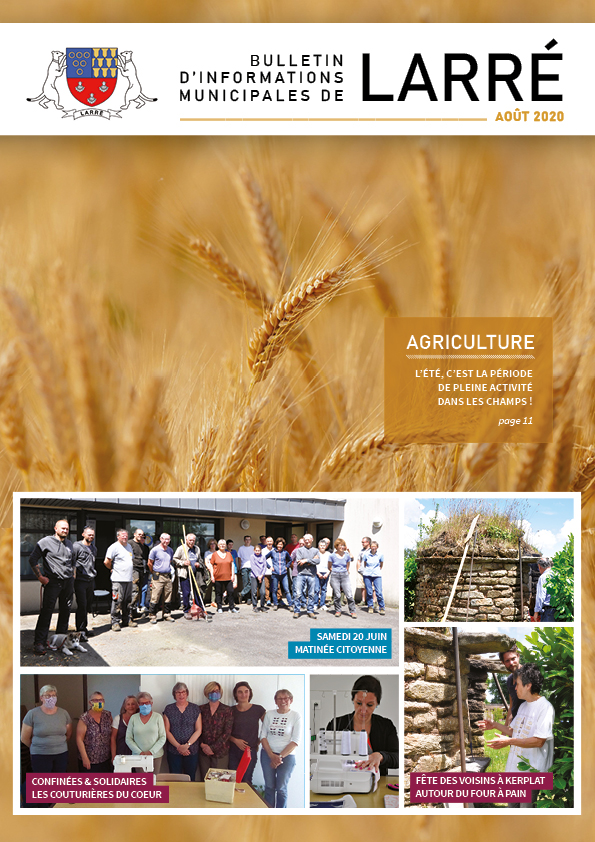 bulletin municipal Larré juillet/août 2020