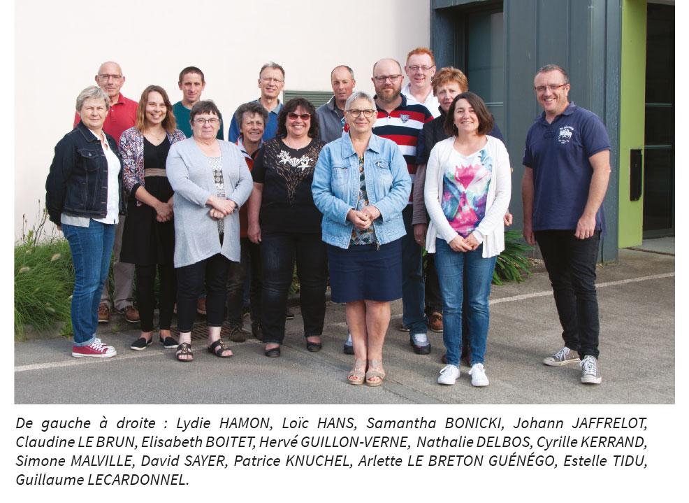 conseil municipal de Larré
